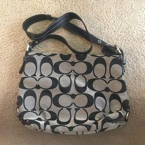 Coach Logo print satchel handbag